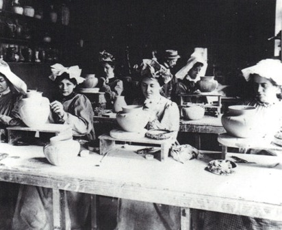 Modelers in Grueby Faience Co.